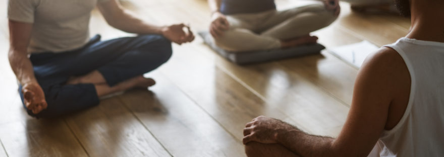 yoga and meditation for the workplace training
